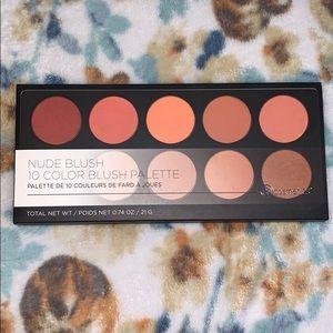 BH Cosmetics Nude Blush 10 Color Blush Palette
